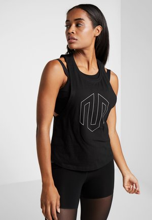 NAKA LOGO BASIC TANK - Top - black