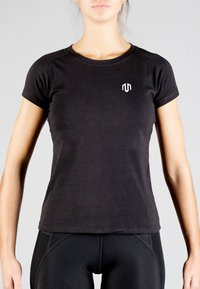 MOROTAI - Basic T-shirt - black - 0