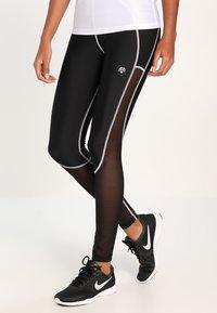 MOROTAI - PERFORMANCE DUAL - Leggings - black - 0