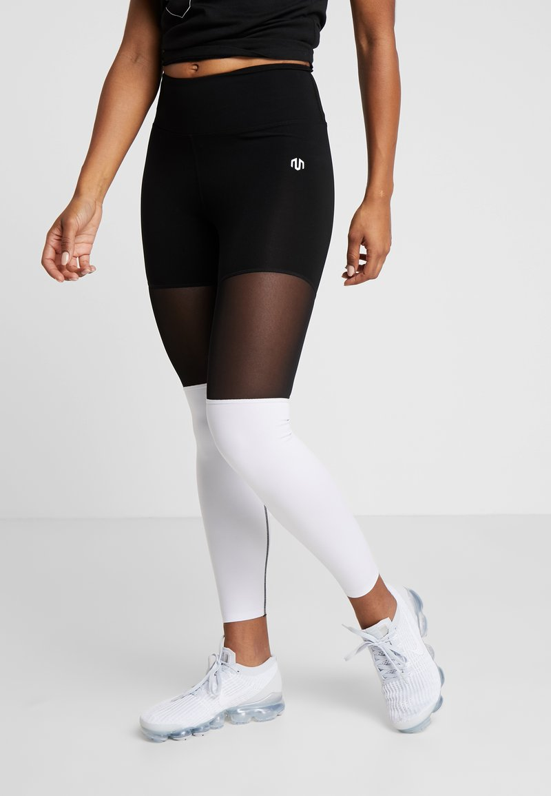 MOROTAI - NAKA BASIC 2.0 - Tights - white
