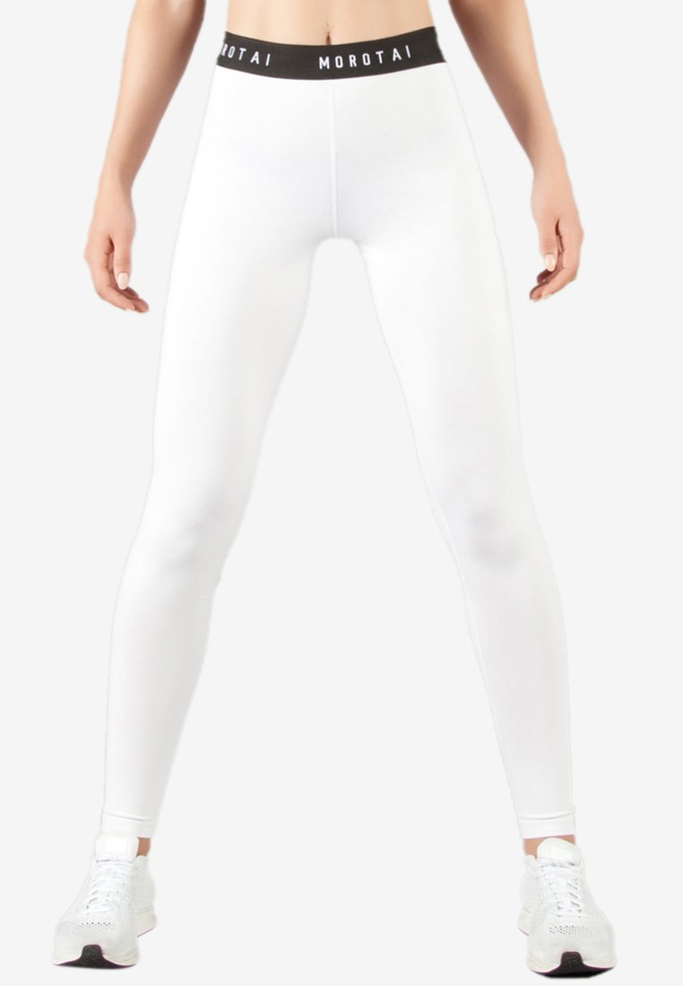 MOROTAI - Leggings - white