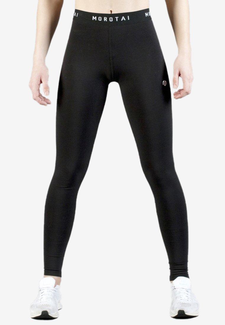 MOROTAI - Leggings - black