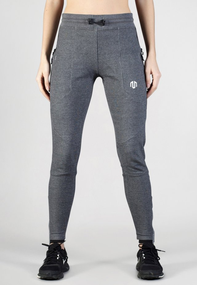 COMFY PERFORMANCE - Tracksuit bottoms - dark grey