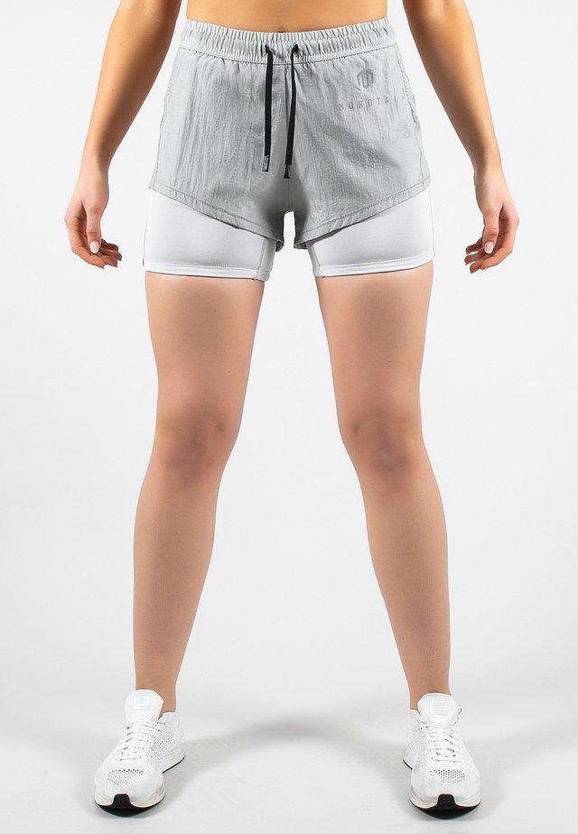 Sports shorts - light grey