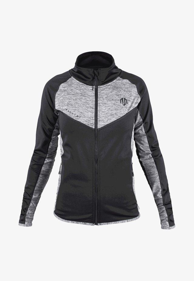 Training jacket - mottled grey