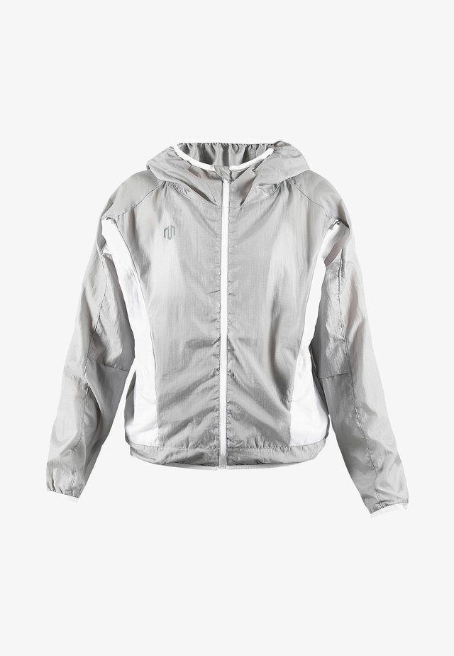 Windbreaker - light grey