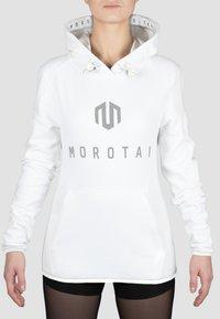 MOROTAI - Hoodie - white - 0