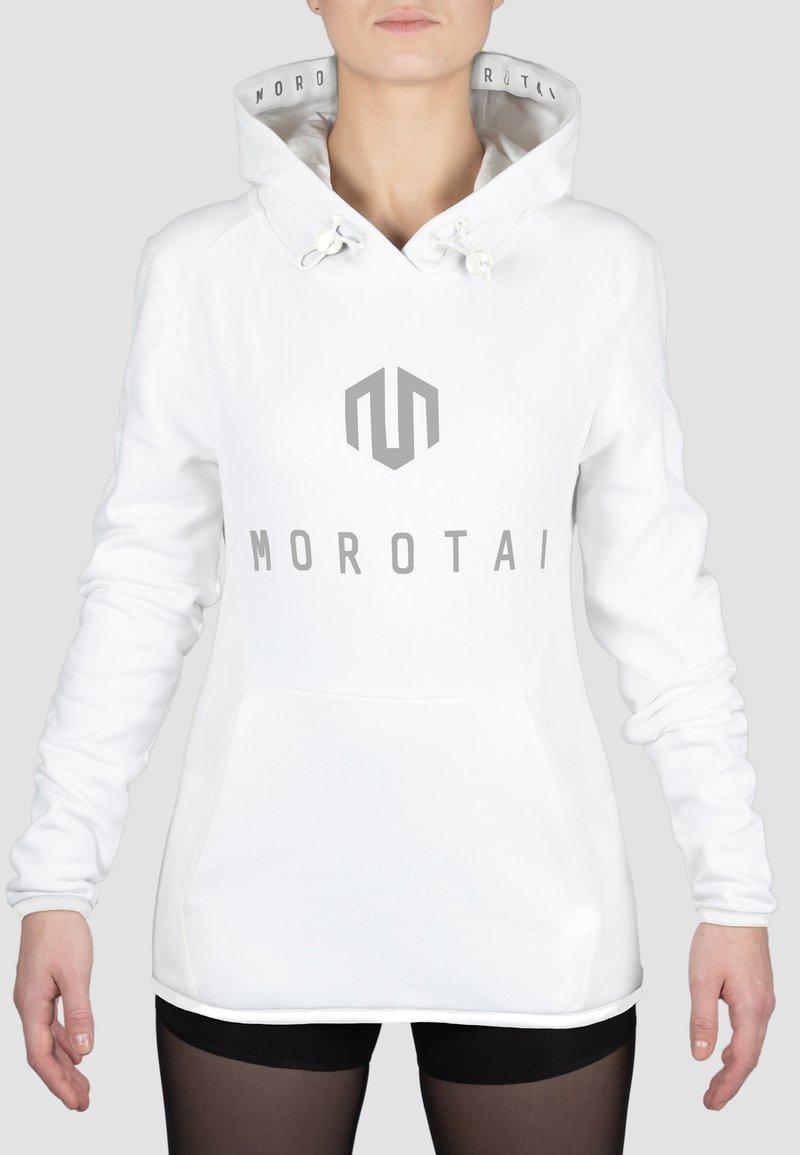 MOROTAI - Hoodie - white