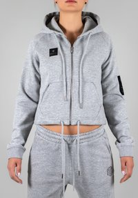 MOROTAI - Zip-up hoodie - light grey - 1