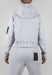 MOROTAI - Zip-up hoodie - light grey - 2