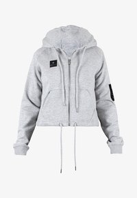 MOROTAI - Zip-up hoodie - light grey - 4