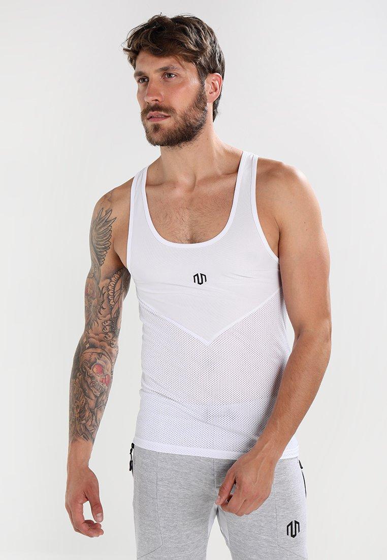 MOROTAI - LIGHT TANKTOP - Sports shirt - white