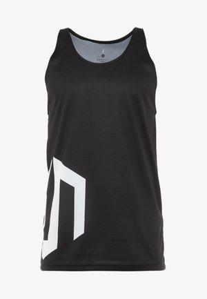 BRAND TANK - Top - black
