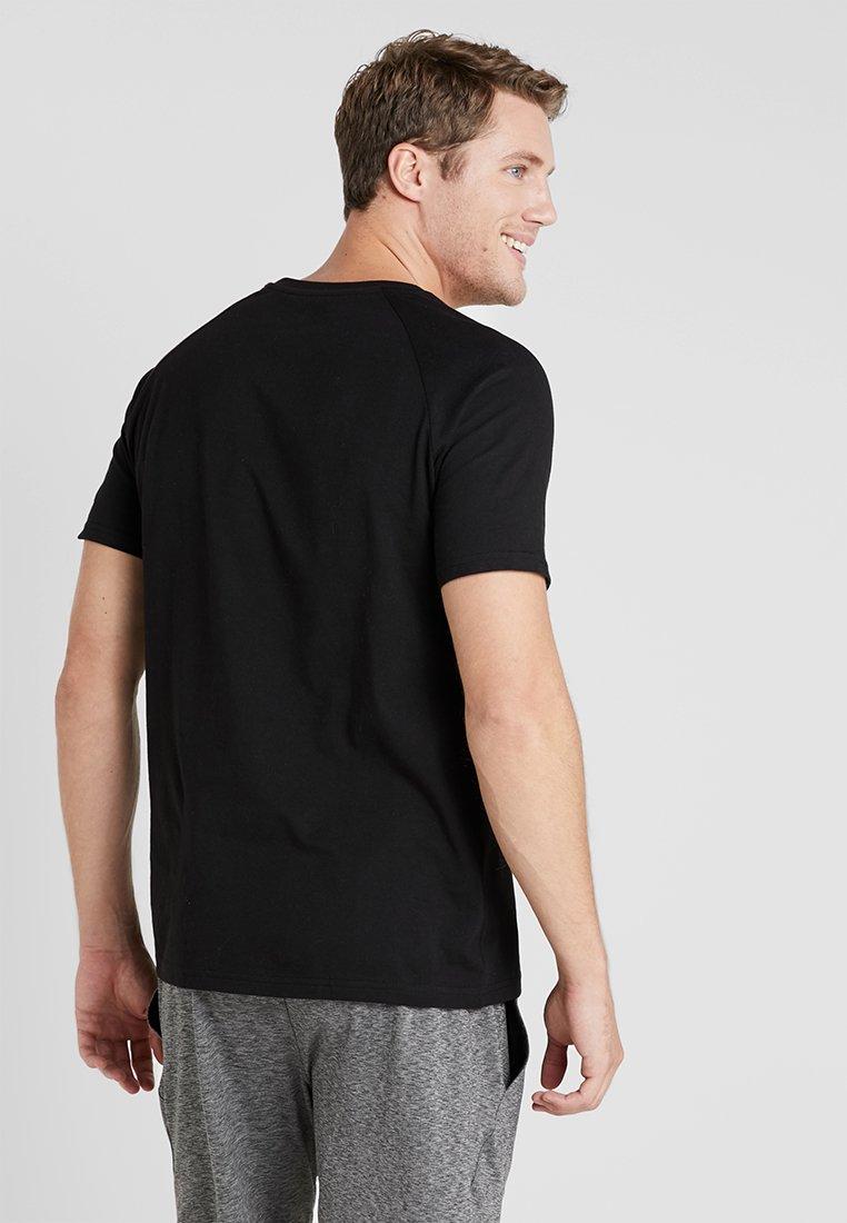 MOROTAI LOGO BASIC TEE - T-shirt basique black