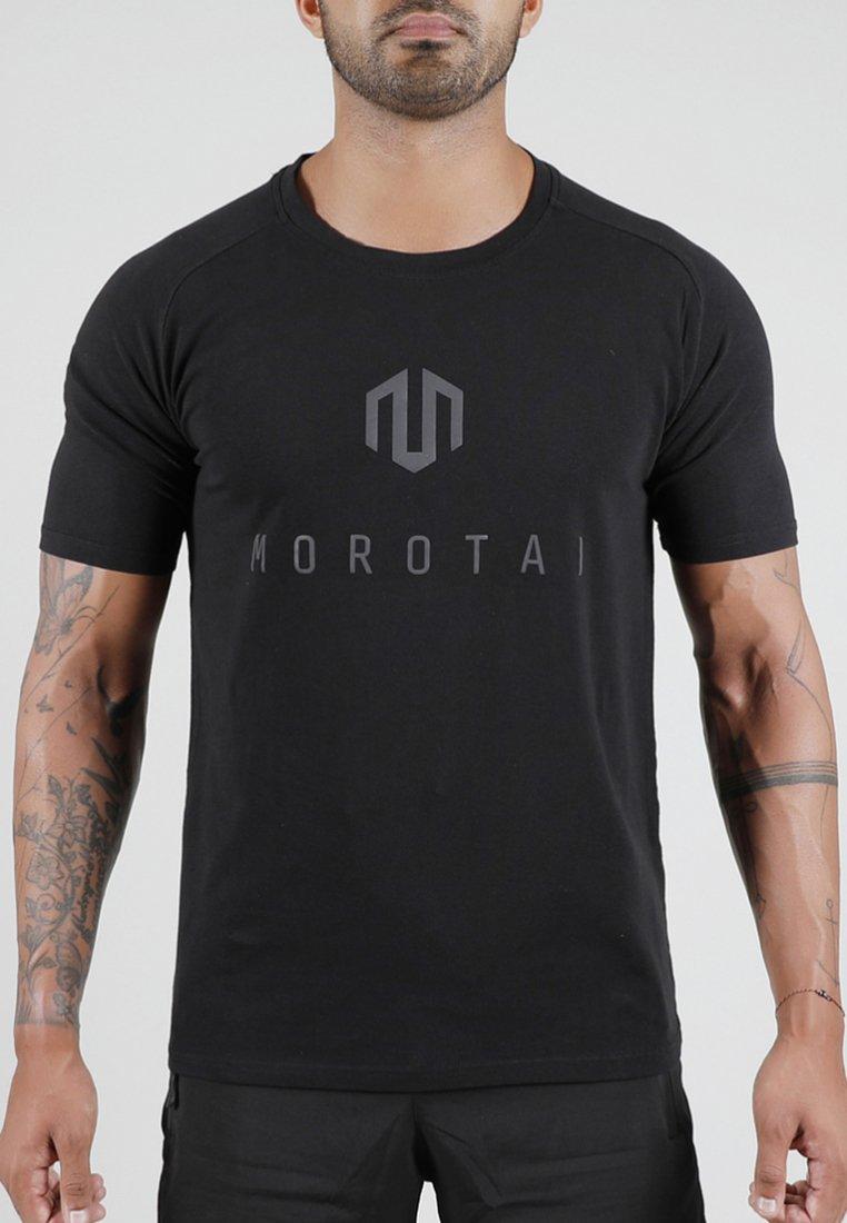 MOROTAI - T-shirts med print - black