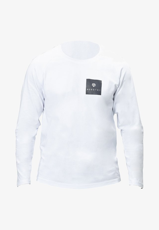 NKMR  - Long sleeved top - White