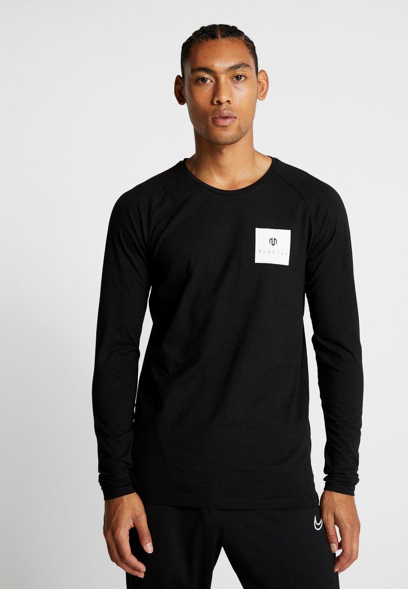 MOROTAI - NKMR  - Langarmshirt - black