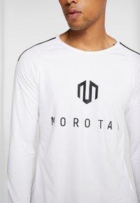 MOROTAI - BONDED LONGSLEEVE - Long sleeved top - white - 5
