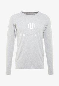 MOROTAI - BONDED LONGSLEEVE - Long sleeved top - light grey - 4