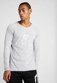 MOROTAI - BONDED LONGSLEEVE - Long sleeved top - light grey - 0