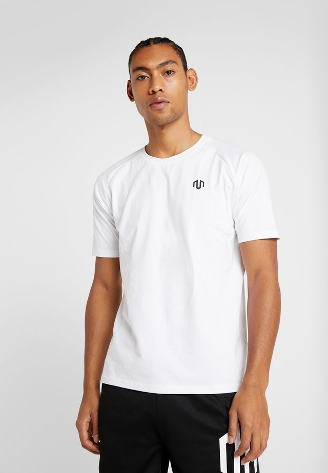 PREMIUM BASIC - Basic T-shirt - white