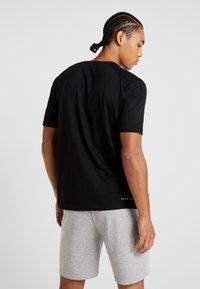 MOROTAI - PREMIUM BASIC - Basic T-shirt - black - 2