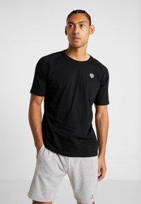 MOROTAI - PREMIUM BASIC - Basic T-shirt - black - 0