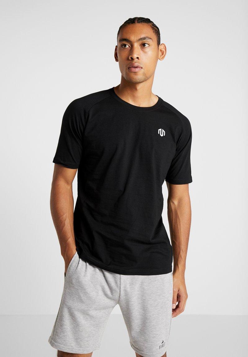 MOROTAI - PREMIUM BASIC - Basic T-shirt - black