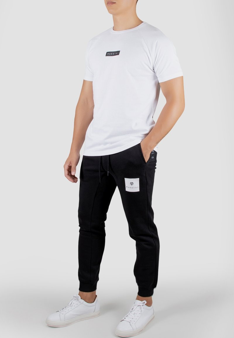 MOROTAI - Print T-shirt - white