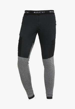 RUNNING PERFORMANCE PANTS - Medias - black/grey