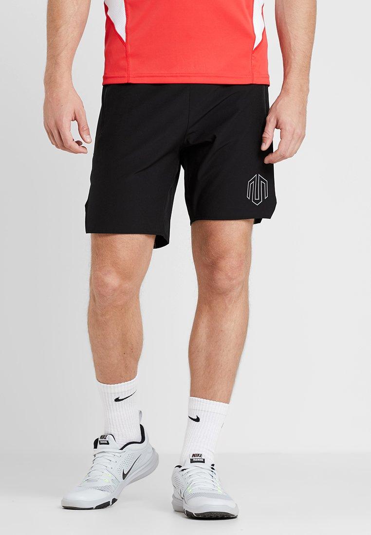 MOROTAI - LOGO SHORTS - Sports shorts - black