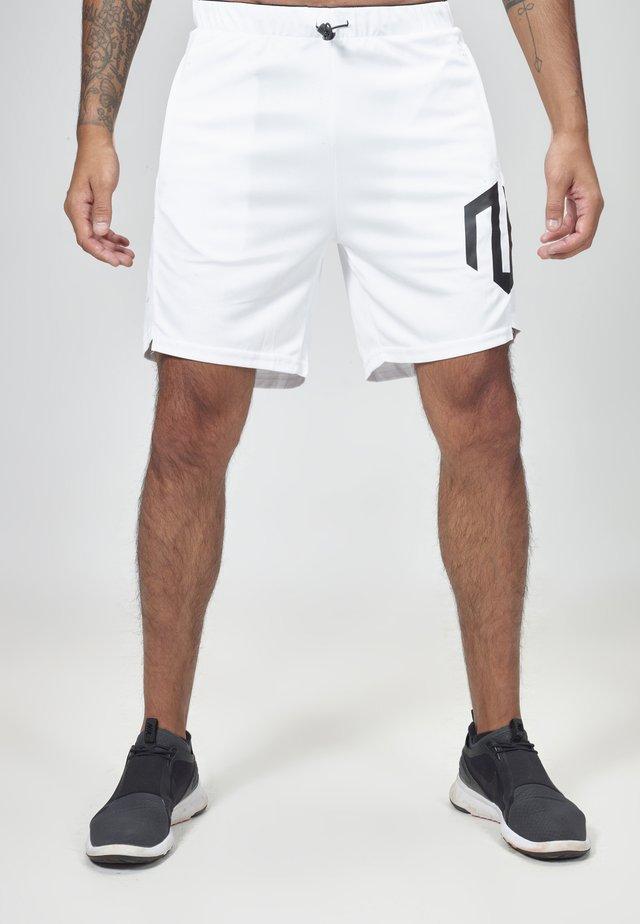 NKMR TECH  - Sports shorts - white