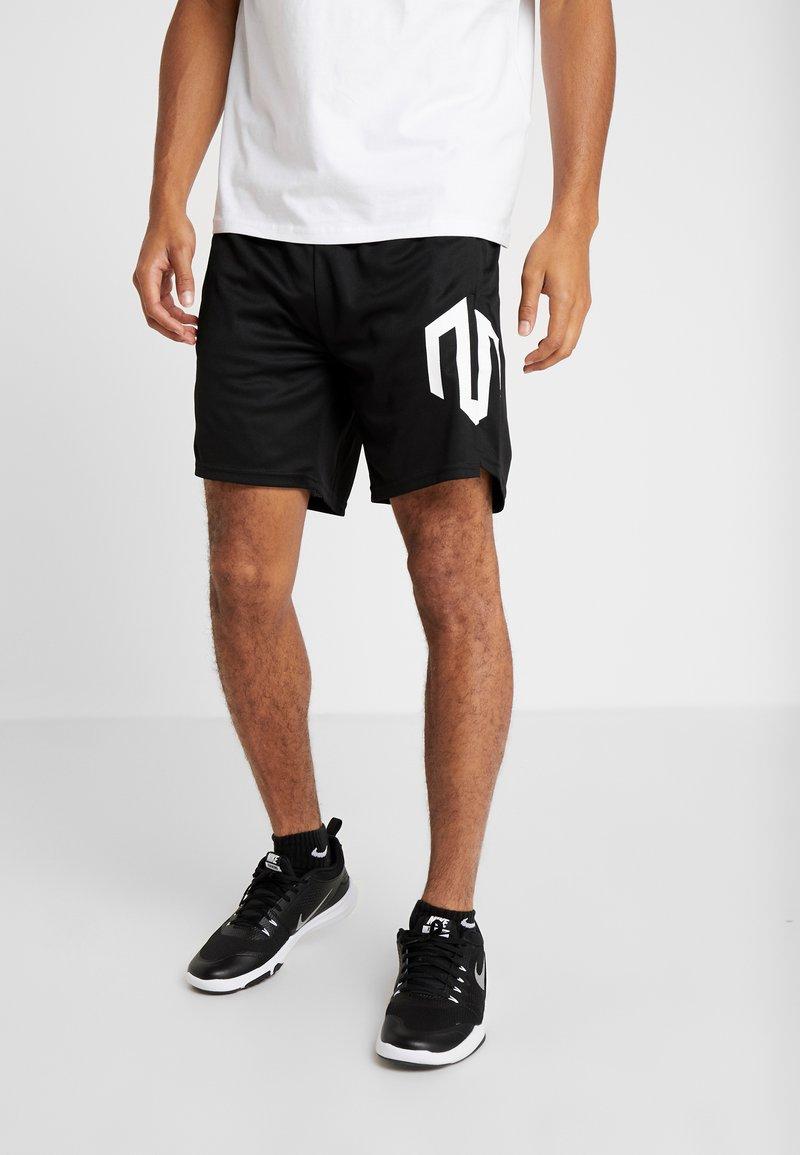 MOROTAI - NKMR TECH  - kurze Sporthose - black