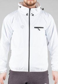 MOROTAI - Waterproof jacket - white - 1