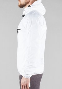 MOROTAI - Waterproof jacket - white - 3