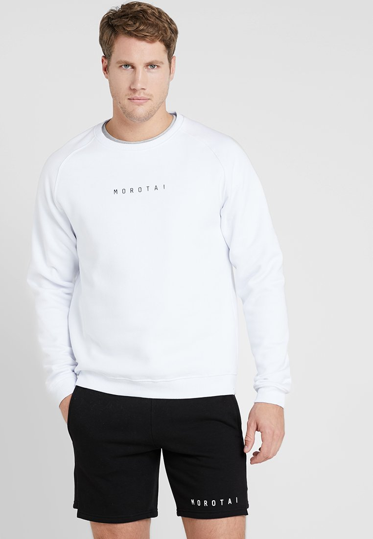 MOROTAI - LOGO BASIC - Sweatshirt - white