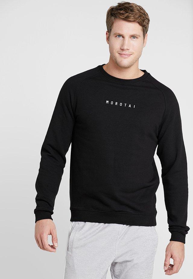 LOGO BASIC - Sweater - black