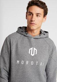 MOROTAI - NEO - Jersey con capucha - space melange - 5