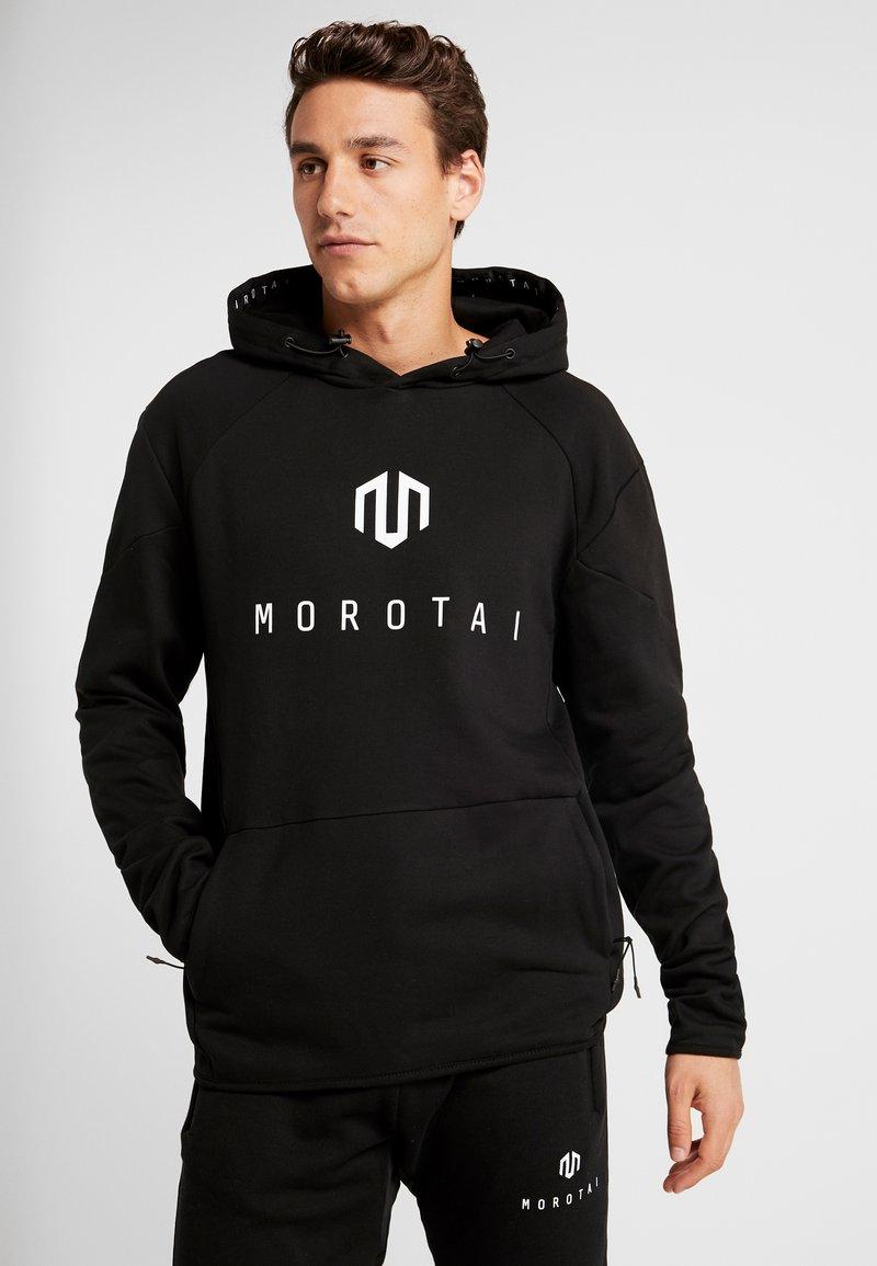 MOROTAI - NEO - Felpa con cappuccio - black