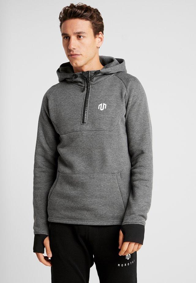 NEOTECH ZIP HOODIE - Kapuzenpullover - dark grey