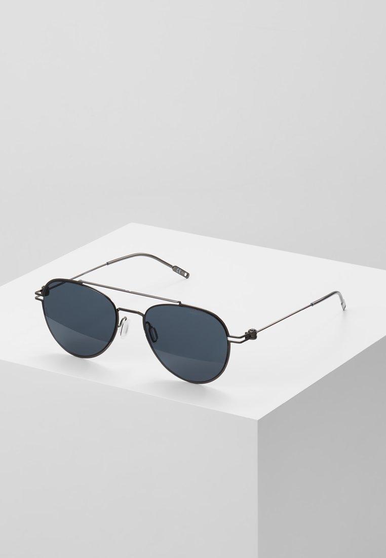 Mont Blanc - Sunglasses - ruthenium/grey