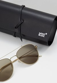 Mont Blanc - Solbriller - gold-coloured/gold-brown - 2
