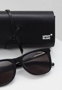 Mont Blanc - Sluneční brýle - black/silver/grey - 2