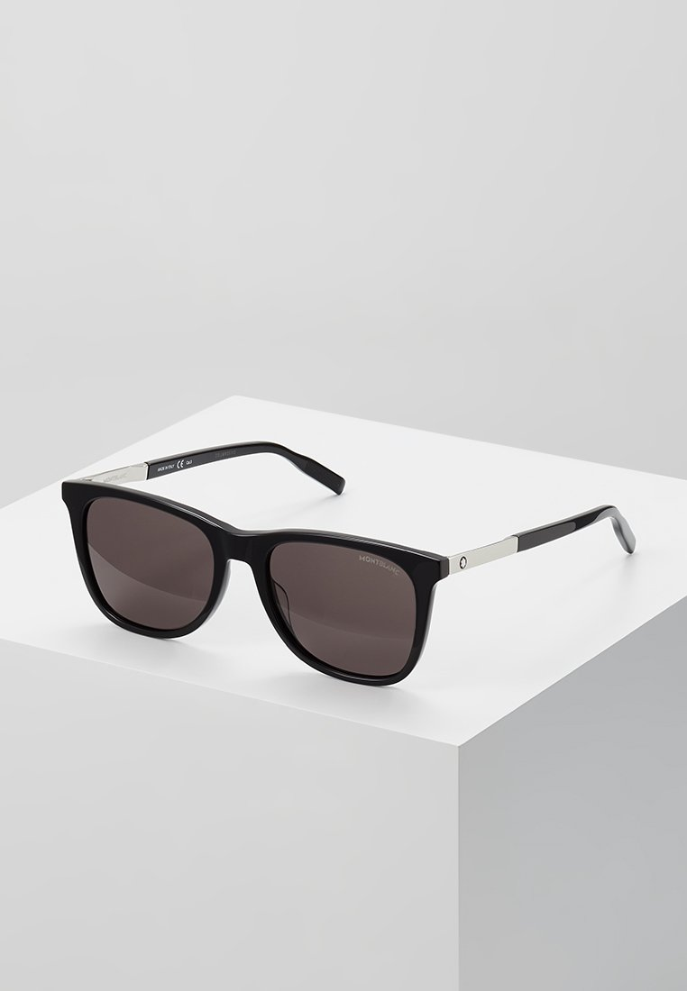Mont Blanc - Sunglasses - black/silver/grey