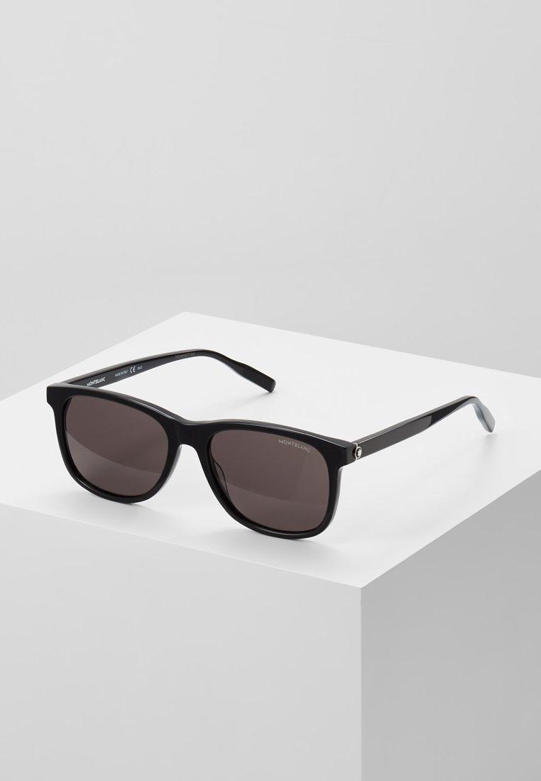 Mont Blanc - Sluneční brýle - black/black-grey