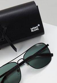 Mont Blanc - Sluneční brýle - black/green - 2