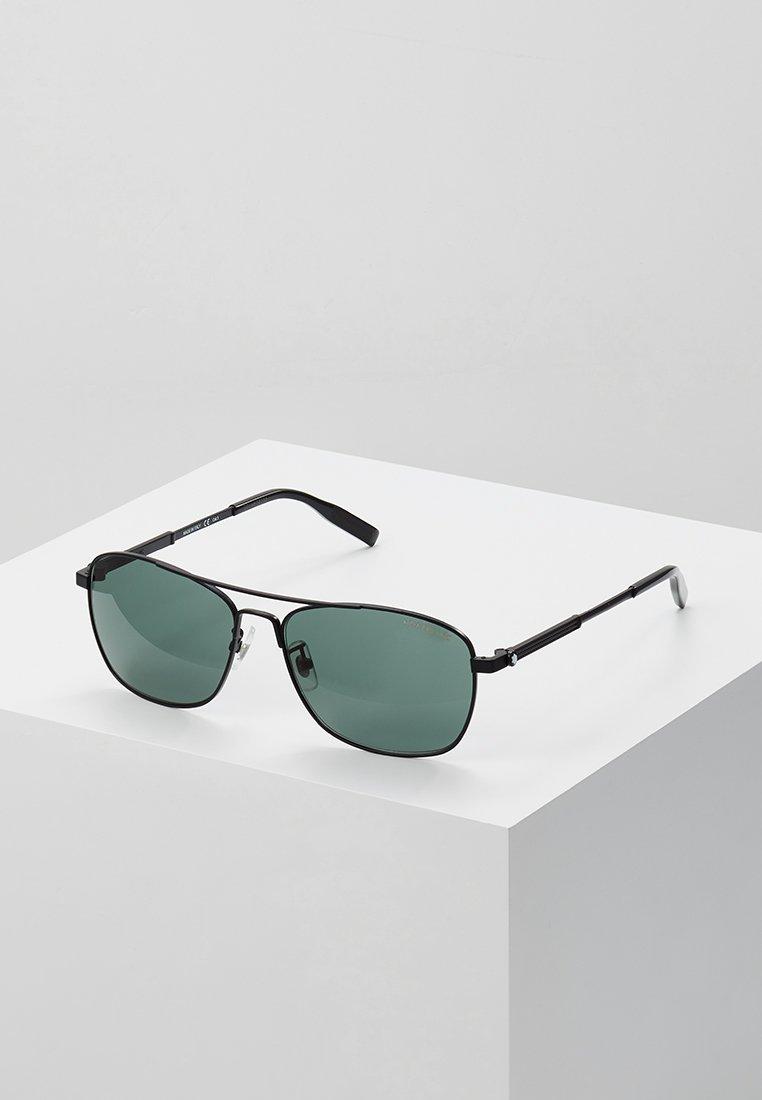 Mont Blanc - Sluneční brýle - black/green