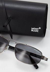 Mont Blanc - Sluneční brýle - ruthenium/black/grey - 2