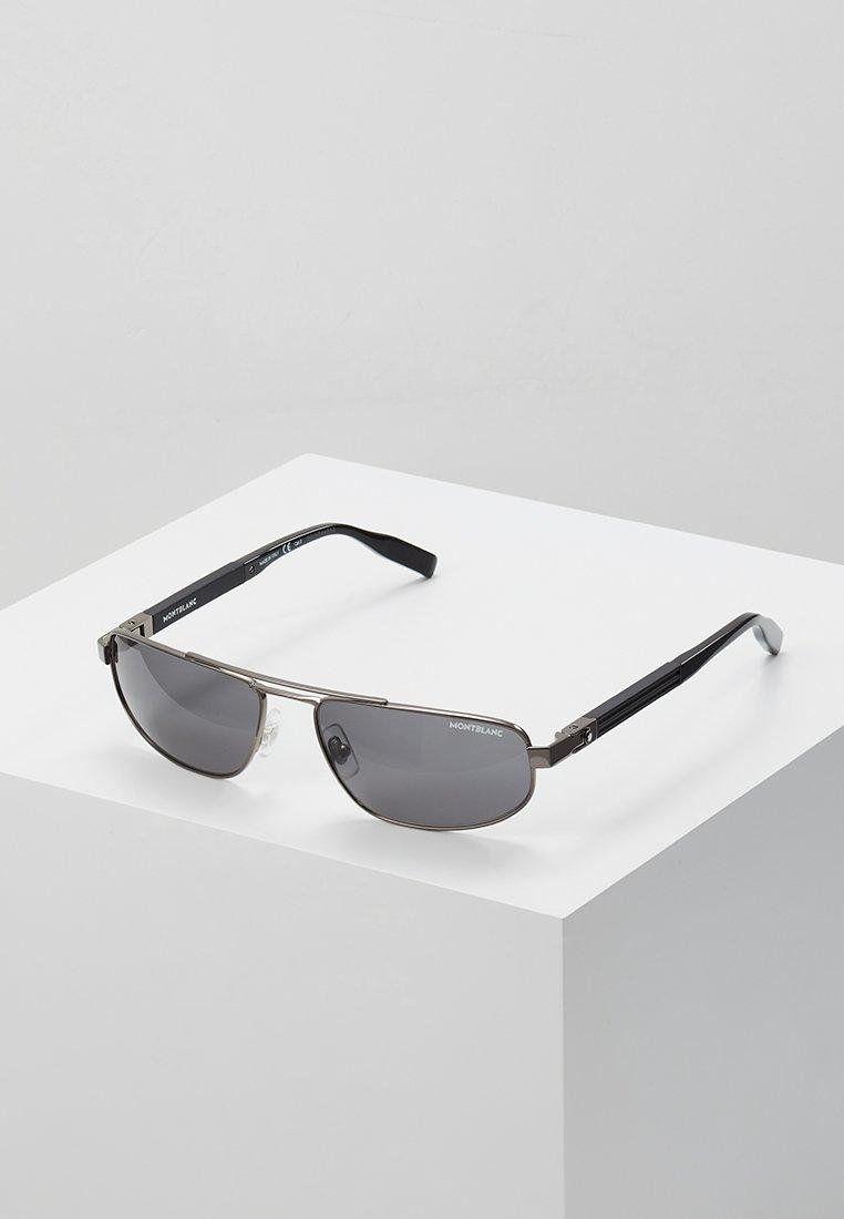 Mont Blanc - Sluneční brýle - ruthenium/black/grey