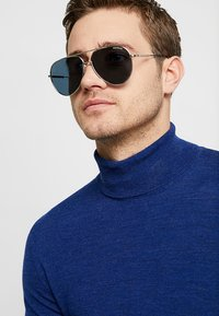 Mont Blanc - Sonnenbrille - silver-coloured/blue - 1
